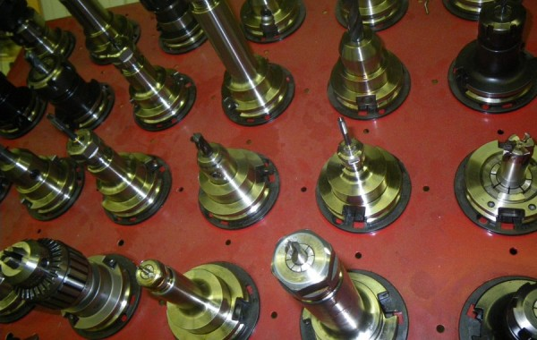 View of Tooling for CNC Milling Machine