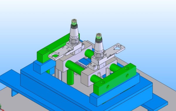 Blow Mold Segment Design Rotational Retraction