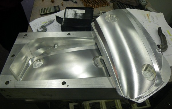 Free Form Machined Fixture Pieces