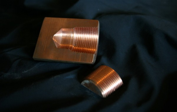 Dry Sealing Threads Test in Copper