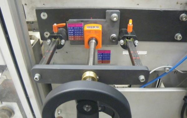 Center Adjusting Conveyor Guide Rails (Actual)